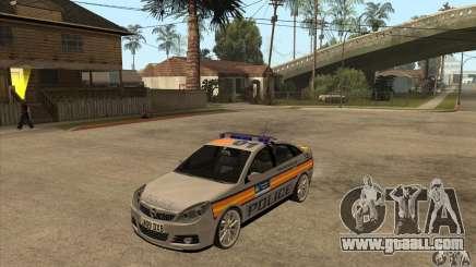 Opel Vectra 2009 Metropolitan Police for GTA San Andreas