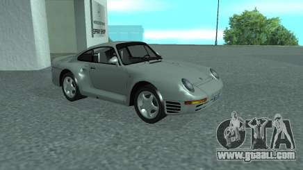 PORSHE 959 for GTA San Andreas