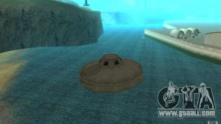 UFO for GTA San Andreas