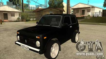 VAZ 21213 NIVA tinted for GTA San Andreas