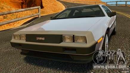 DeLorean DMC-12 1982 for GTA 4