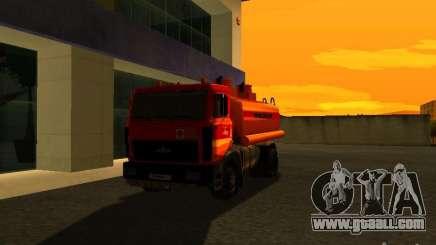 MAZ Truck for GTA San Andreas