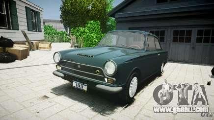 Lotus Cortina S 1963 for GTA 4