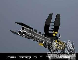 Minigun for GTA San Andreas