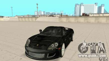 Porsche Carrera GT stock for GTA San Andreas