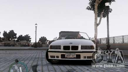 BMW M3 e36 1997 Cabriolet for GTA 4