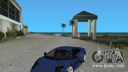 Lamborghini Murcielago LP640 for GTA Vice City