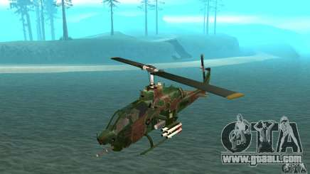 AH-1 super cobra for GTA San Andreas