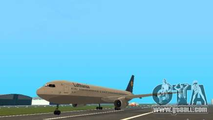 Boeing 767-300 Lufthansa for GTA San Andreas