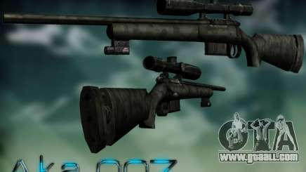 Sniper - Forest Camouflage for GTA San Andreas