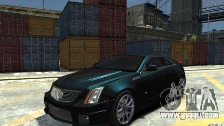 Cadillac CTS-V Coupe 2011 v.2.0 for GTA 4