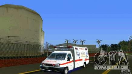 RTW Ambulance for GTA Vice City