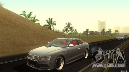Audi S5 Black Edition for GTA San Andreas