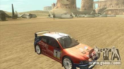 Citroen Xsara WRC for GTA San Andreas