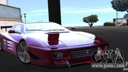 Ferrari 512 TR for GTA San Andreas