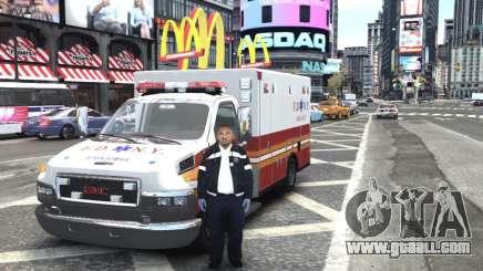 GMC C4500 Ambulance [ELS] for GTA 4