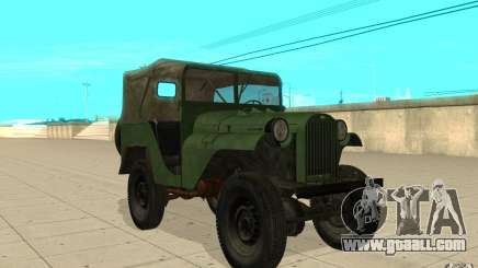 Gaz-64 skin 1 for GTA San Andreas