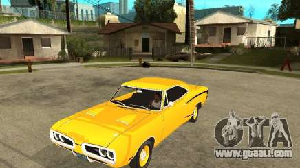 Dodge Coronet Super Bee 70 for GTA San Andreas
