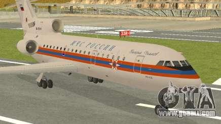 Yak-42 EMERCOM of Russia for GTA San Andreas