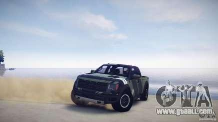 Ford F150 SVT Raptor 2011 UNSC for GTA 4