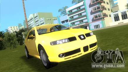 Seat Leon Cupra R for GTA Vice City