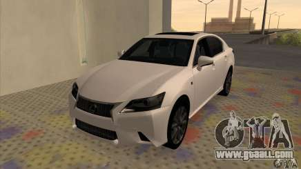 Lexus GS350 F Sport Series IV 2013 for GTA San Andreas