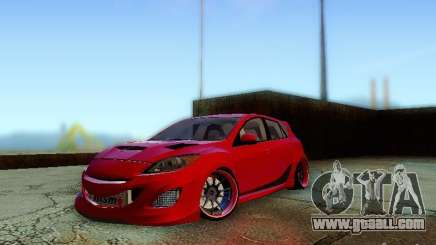 Mazda Speed 3 2010 for GTA San Andreas