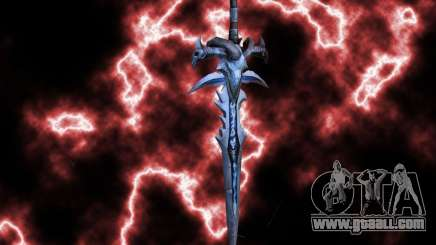 Frostmorn-sword from WoW Lich King for GTA San Andreas