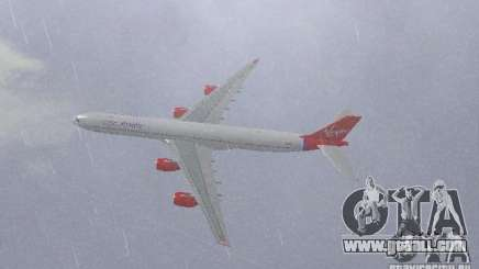 Airbus A340-600 Virgin Atlantic for GTA San Andreas