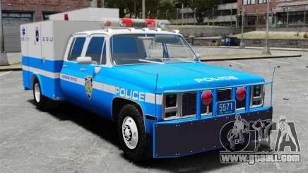 GMC C3500 NYPD ESU for GTA 4