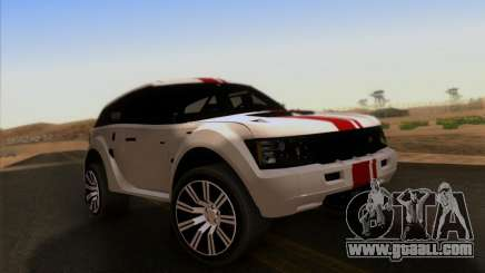 Bowler EXR S 2012 for GTA San Andreas