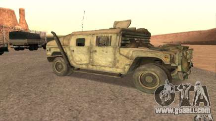 Hummer Spec Ops The Line for GTA San Andreas