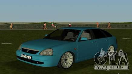 Lada Priora Hatchback v2.0 for GTA Vice City