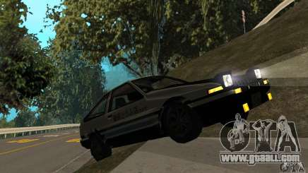 Toyota Sprinter Trueno GT-APEX AE86 83 Initial D for GTA San Andreas