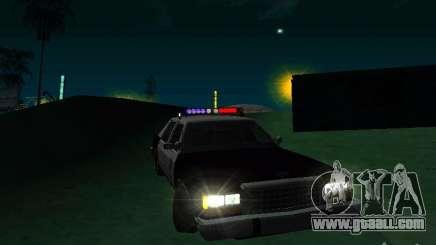 Ford Crown Victoria LTD 1992 SFPD for GTA San Andreas