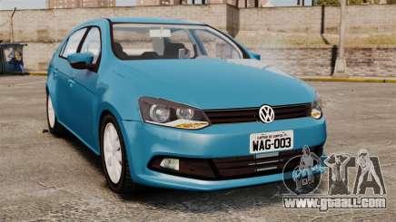 Volkswagen Voyage G6 2013 for GTA 4