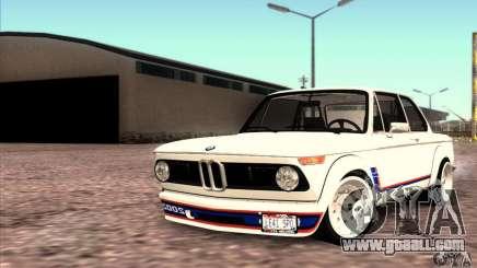 BMW 2002 Turbo for GTA San Andreas