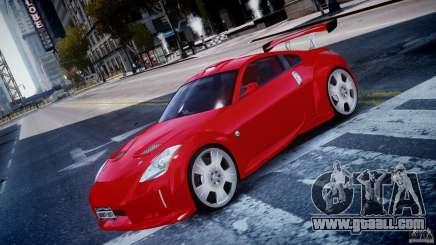 Nissan 350Z Veilside Tuning for GTA 4