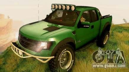 Ford F150 2011 SVT RapTor for GTA San Andreas