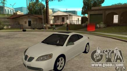 Pontiac G6 Stock Version for GTA San Andreas