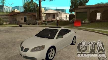 Pontiac G6 Stock Version for GTA San Andreas