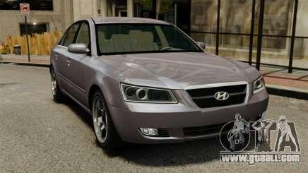 Hyundai Sonata 2008 for GTA 4
