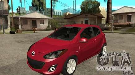 Mazda 2 2011 for GTA San Andreas