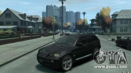 BMW X5 (E53f) 2004 for GTA 4