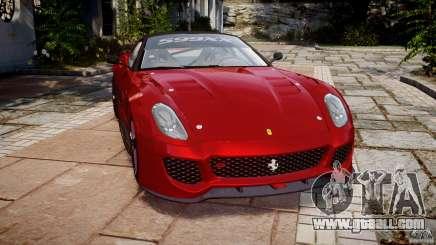 Ferrari 599 XX for GTA 4