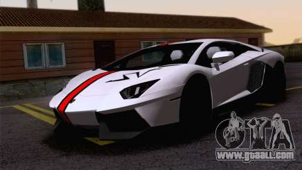 Paint work Lamborghini Aventador LP700-4 for GTA San Andreas