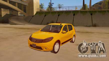 Renault Sandero Taxi for GTA San Andreas