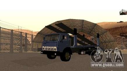 KAMAZ truck for GTA San Andreas