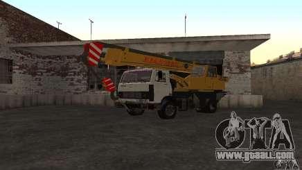 MAZ Truck Crane for GTA San Andreas