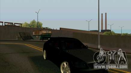 LEXUS IS300 Light tuned for GTA San Andreas